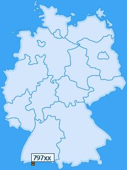 PLZ 797 Deutschland