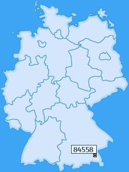PLZ 84558 Deutschland