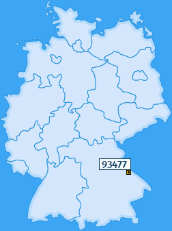 PLZ 93477 Deutschland