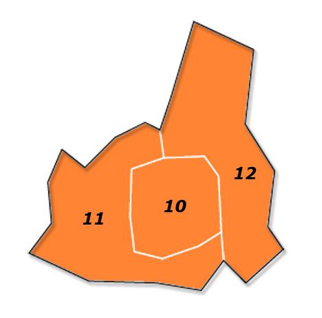 PLZ Karte Wien