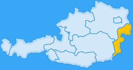 Landkarte Bundesland Burgenland